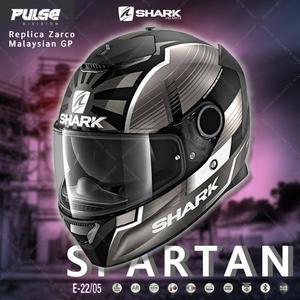 [中壢安信]SHARK SPARTAN Replica Zarco Malaysian GP 安全帽HE3459 KAS