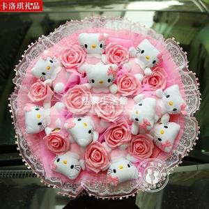 卡通花束 hello kitty貓花束YG-124532