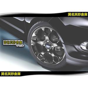 莫名其妙倉庫【AU001 頂級17吋鋁圈(單顆)】福特 Ford New Fiesta 小肥精品配件空力套件