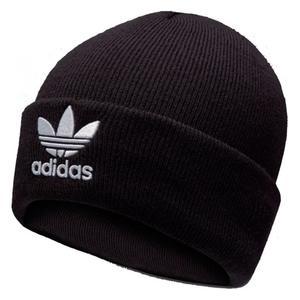 Adidas TREFOIL BEANIE 毛帽 休閒 針織 黑 【運動世界】 BK7634