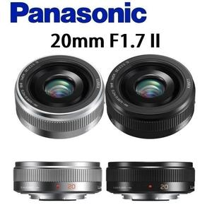 名揚數位 Panasonic 20mm F1.7 H-H020A LUMIX G 20mm F1.7 II ASPH 公司貨 (分12/24期0利率)
