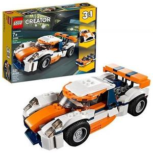 LEGO 樂高  Creator 3in1 Sunset Track Racer 31089 Building Kit , New 2019 (221 Piece)