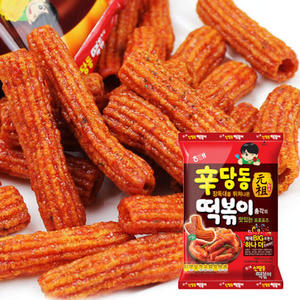 韓國直送 韓國 HAITAI 海太 元祖 辣炒年糕餅乾 (103g) 辣炒年糕 年糕餅 團購 零嘴
