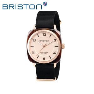 BRISTON 手錶 原廠總代理18536-PRA-T-6-NB 玫瑰金 前衛設計 時尚帆布錶帶 男女 生日情人節禮物