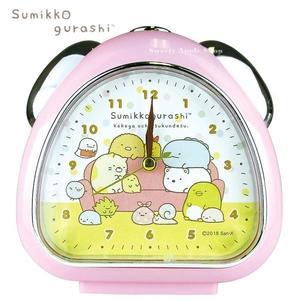 日本限定 角落生物 居家沙發版 鬧鐘 / 時鐘(粉色)