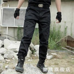 作訓褲通勤戰術長褲特種兵軍褲男防刮耐磨冬季工裝褲