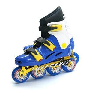 D.L.D  多輪多 鋁合金底座 專業競速直排輪  溜冰鞋 水藍白 -- FS-1