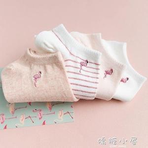 4雙Caramella襪子女船襪純棉日系淺口韓國夏季隱形薄款可愛短襪子  嬌糖小屋