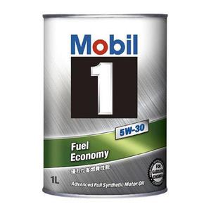 【MOBIL】 1 Fuel Economy 5W30 全合成 機油 日本圓鐵罐