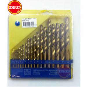 章魚牌 866.0193 鍍鈦鑽頭19支組 1-10mm