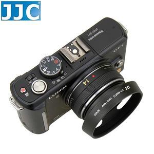 又敗家@JJC副廠Panasonic 46mm遮光罩適Lumix G 14mm f2.5 1:2.5 20mm f1.7 1:1.7 II ASPH lens hood