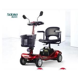 老年代步車四輪老人電動車成人迷妳型助力車殘疾人電瓶車 LX  居家