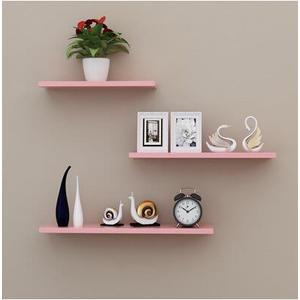 牆上置物架牆壁客廳一字隔板擱板壁挂牆面層板書21(首圖款)
