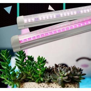 植物燈生長燈全光譜LED燈管大棚仿太陽光光照家用上色多肉補光燈 萬客居