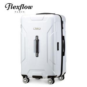 Flexflow 消光白 29型 特務箱 智能測重 防爆拉鍊旅行箱 南特系列 29型行李箱 【官方直營】