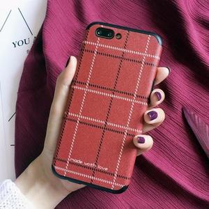 手機殼 oppor9s手機殼r9女款矽膠全包防摔軟殼R11韓國文藝簡約格子plus 魔法空間