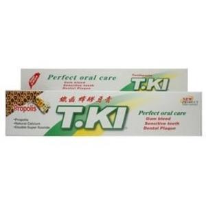 T.KI 鐵齒蜂膠牙膏 144G/條 每條加贈1條20G蜂膠牙膏★愛康介護★