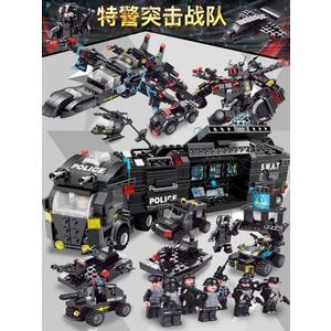 匹配樂高積木拼裝玩具益智男孩子6兒童拼圖城市智力8消防車10周歲