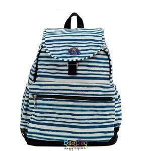 Roland 多口袋設計大容量 後背包 媽媽包 Dora II 斑馬藍