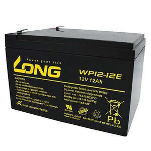 廣隆 LONG 12V 12Ah 電池 WP12-12E 代步車 電動車 鉛酸【康騏電動車】專業維修批發零售