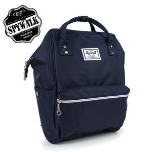 後背包SPYWALK日系樂天尼龍布後背包~氣質藍 No:2981