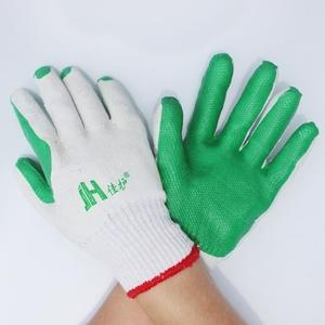【免運】防割手套 膠片手套勞保工地搬磚線膠浸膠塗膠手套防割防滑耐用手套