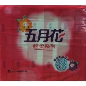 **好幫手生活雜鋪** 五月花輕柔抽取式衛生紙 110抽 12包 6袋 / 箱 ------衛生紙.濕紙巾.擦手紙.捲筒紙