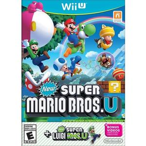 WiiU New 超級瑪利歐兄弟 U+超級路易吉 U(美版代購)