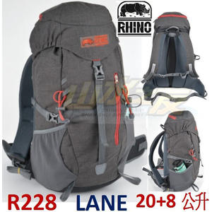 【山水網路商城】犀牛R228 登山背包/攻頂背包/自助旅行 20+8L LANE