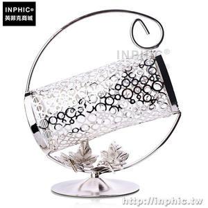 INPHIC-紅酒櫃鍍銀酒架手提葡萄酒架紅酒架擺件可手提歐式不鏽鋼_fchM