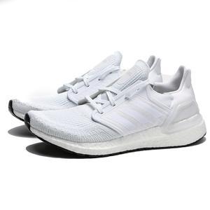 ADIDAS ULTRA BOOST 20 全白 編織 透氣 慢跑鞋 男 (布魯克林) EF1042