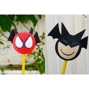 英雄聯盟 蝙蝠俠 蜘蛛俠 蜘蛛人  繽紛 汽車收音機天線球 裝飾天線 天線娃娃 裝飾娃娃 旗子造型球