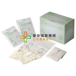 華新 乳膠滅菌檢診手套 S/M/L號(有粉) 50入/盒