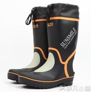 雨靴 雨鞋男款春夏秋防水高筒橡膠套鞋膠鞋膠靴防滑釣魚鞋長筒水鞋舒適 非凡小鋪
