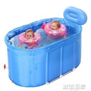 游泳池 諾澳嬰兒游泳池家用保溫小孩兒童合金支架大號雙胞胎寶寶游泳桶 韓菲兒