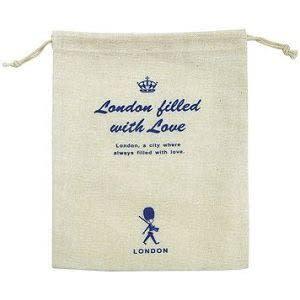 四季紙品 麻布束口袋(大)-BD0007