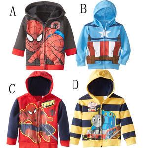 外套。美國隊長/蜘蛛人/湯瑪士連帽外套 (BB50929) *繪米熊童裝*
