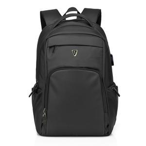 SUMDEX 巨無霸背包 PON-1303BK  筆電後背包 經典黑 商務包 公事包 後背包17吋 筆電包 桔子小妹