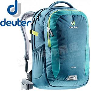Deuter 80414_深藍/湖綠 Giga 28L日用旅遊後背包/筆電包