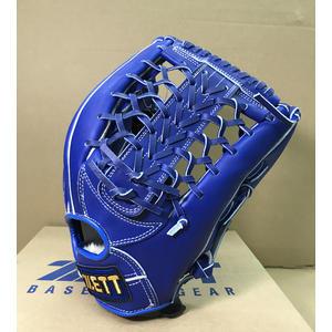 「野球魂中壢店」--「ZETT」【8900】系列牛皮棒球壘球手套(外野手,BPGT-8937,寶藍色)