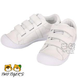 法國 Palladium FLEX STRAP LEA 白色 魔鬼氈 中童鞋 NO.R1960