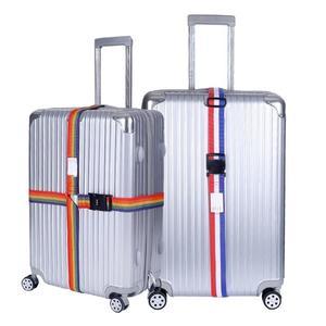 行李束帶旅行行李箱綁帶一字十字打包帶拉桿箱捆綁帶TSA海關鎖密碼鎖綁帶 伊蘿鞋包