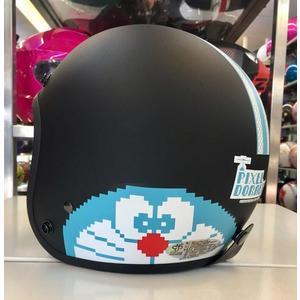 哆啦A夢復古帽,小叮噹安全帽,803,#5/平黑