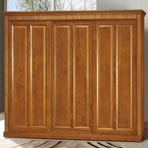 衣櫃 衣櫥 AT-338-1 楠檜柚木色8X7尺實木衣櫥【大眾家居舘】