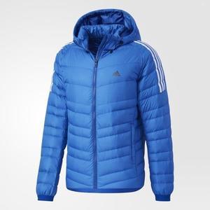 adidas CW ITAVIC 3S 藍 藍白 羽絨外套 彭于晏 連帽外套 防風 男款 BQ8570