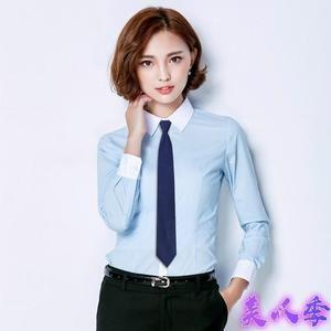 領帶 韓版學院風學生工裝職業正裝黑色銀行英倫制服懶人拉鏈小領帶 女窄