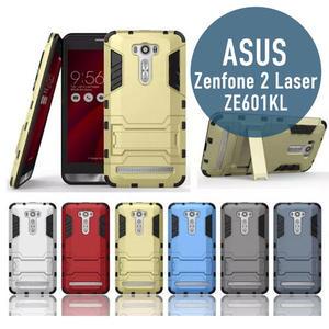 華碩Zenfone 2 Laser/ZE601KL 二合一支架 防摔 盔甲 TPU+PC材質 手機套 手機殼 保護殼 保護套