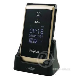《一打就通》HUGIGA 4G-VoLTE折疊手機/老人機 T33 (簡配/公司貨)+贈配件包