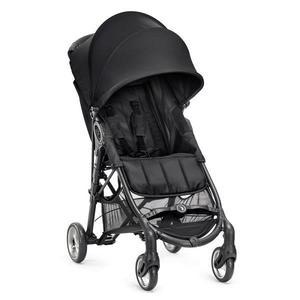 美國 baby jogger City Mini Zip Fold 單手3D立體秒收 輕運動推車 黑色