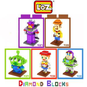 LOZ 迷你鑽石小積木 玩具總動員 三眼仔 巴斯光年 胡迪 樂高式 組合玩具 益智玩具 原廠正版